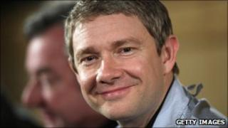 Martin Freeman at The Hobbit press conference