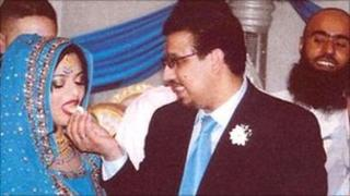 Wedding of Mahmood Ahmad and Farah Munir in 2008
