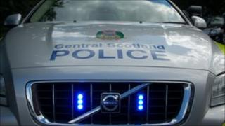 Central Scotland Police car