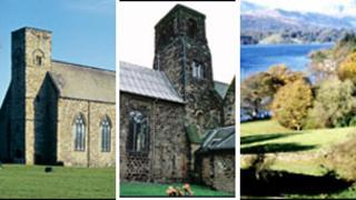 St Peter's Church, Wearmouth; St Paul's Church, Jarrow; Lake District