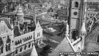 Plymouth after the Blitz