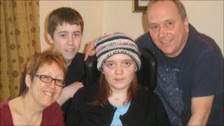 Grace Currie and family