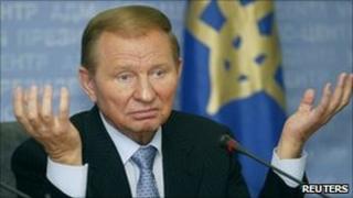 Former Ukrainian President Leonid Kuchma. File photo