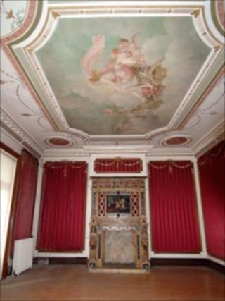 Dyffryn House interior