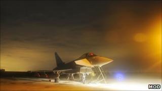 RAF Typhoon. Pic: MoD