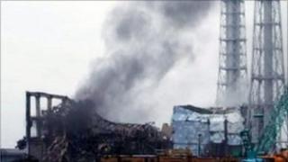 Power plant in Fukushima