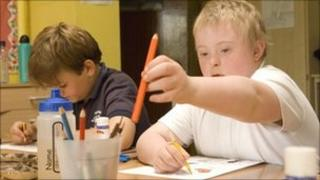 Children at Brookfields School