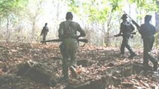Maoist rebels in Chhattisgarh