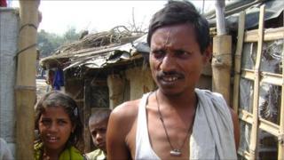 Mohd Noor Alam, a TB patient in Bihar