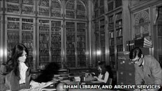 Shakespeare Library c1970