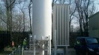 The biomethane station