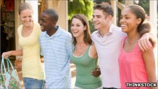 Stock photo of teenagers
