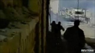 Amateur video of protest in Deraa