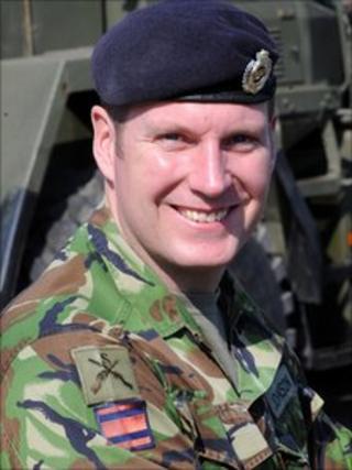 Staff Sgt Andrew Johnson