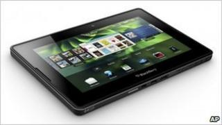 Research in Motion's new Blackberry Playbook tablet computer