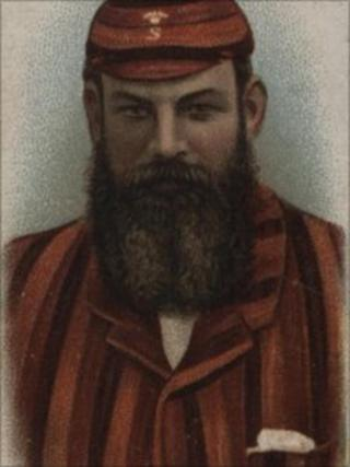 WG Grace cigarette card
