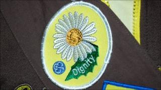 The Dignity badge