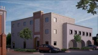 Artist's impression of new Islamic centre