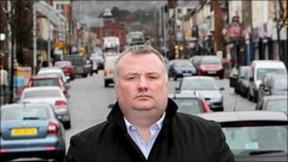Stephen Nolan on Belfast's Shankill Road