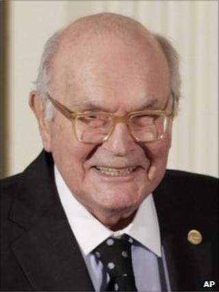 Harry Coover, creator of Super Glue in 2010