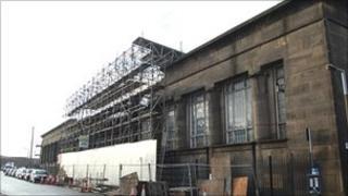 Temple Works in Leeds