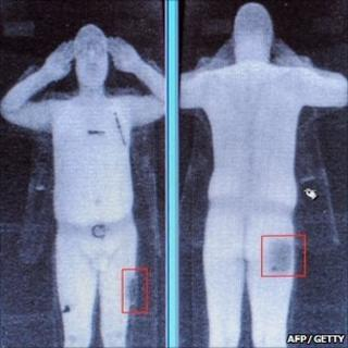 full body scan image