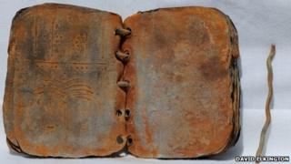 Book found in Jordan