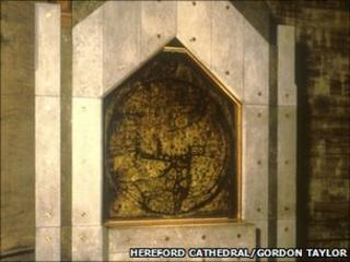 Mappa Mundi in Hereford