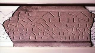 Inscription to the Ninth Legion. Copyright: York Museums Trust