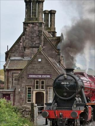 Cheddleton Railway Station