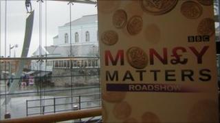 Money Matters sign