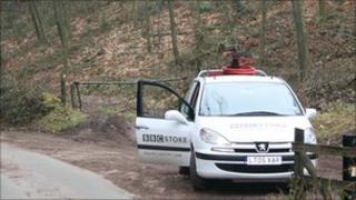 Radio Stoke broadcast car