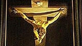 Christ of St John of the Cross painting