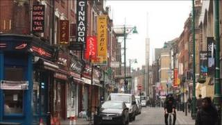 Curry houses in Brick Lane