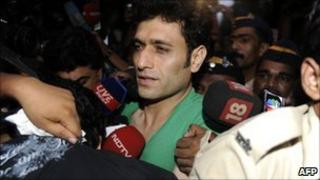 Actor Shiney Ahuja in Mumbai in October 2009