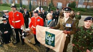 The Mercian regiment is awarded the freedom of Wychavon