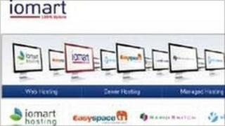 Iomart web page