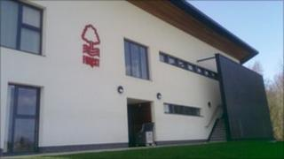Nottingham Forest's new training building