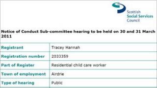 Scottish Social Services Council website