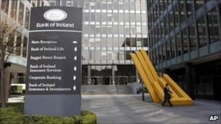 Bank of Ireland headquarters in Dublin