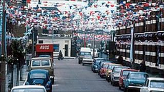 Street party in 1977