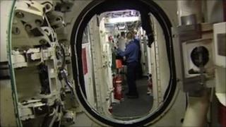 Aboard Trident sub HMS Vengeance