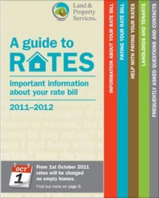 Cover of A Guide To Rates Booklet