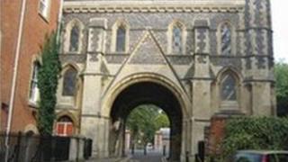 Reading Abbey Gate