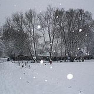 Snowy scene in Berkshire
