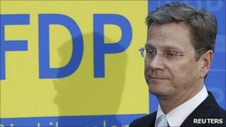 Germany's Foreign Minister Guido Westerwelle, 3 Apr 11