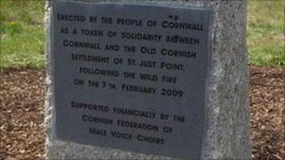 The memorial in Bendigo