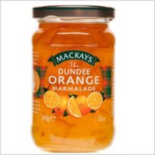 Mackays orange marmalade (Picture courtesy of Mackays)