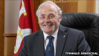 Isle of Man Chief Minister Tony Brown