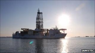 Drilling ship Chikyu (Jamstec)